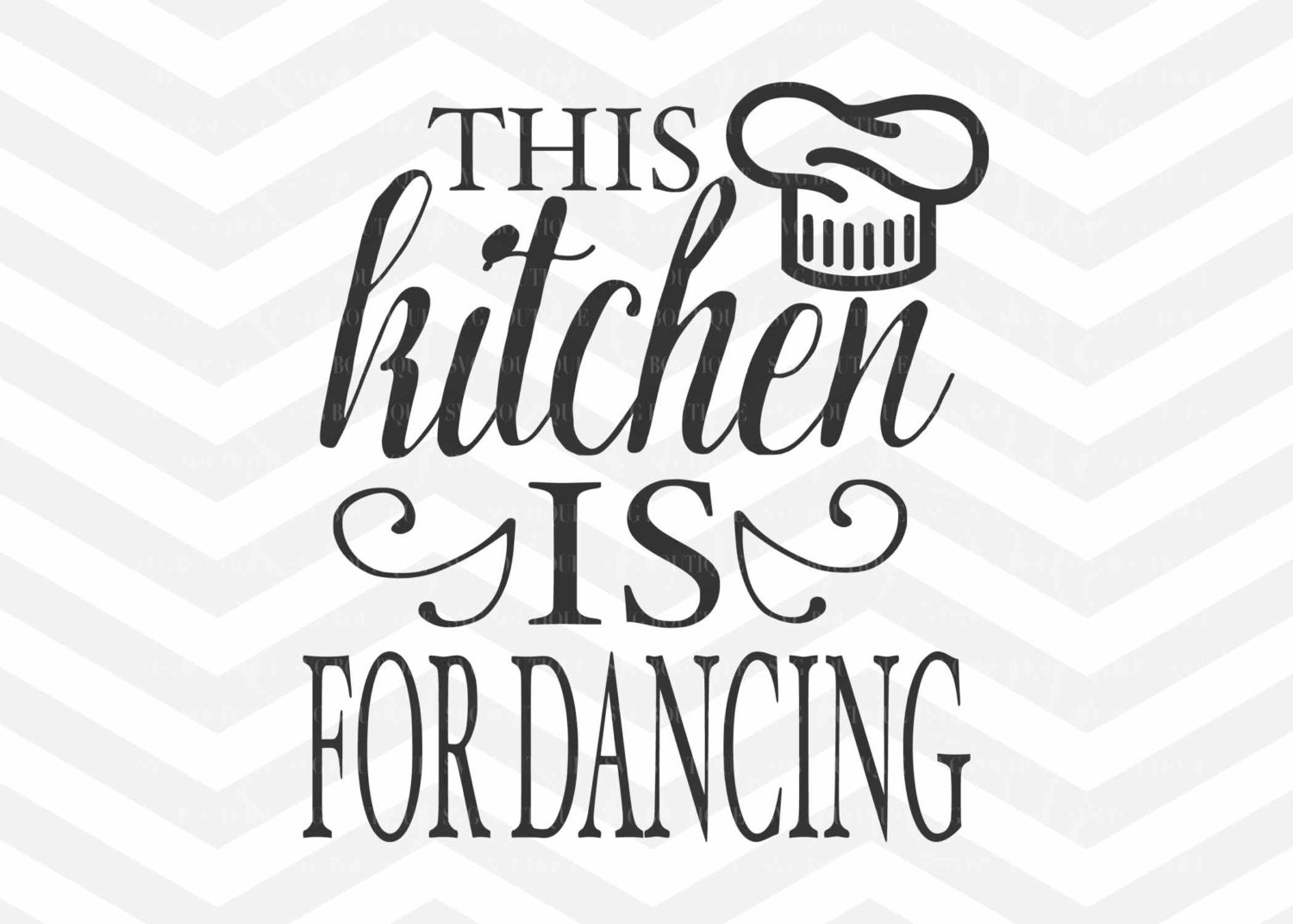 Download This Kitchen Is For Dancing SVG File Cut File Kitchen SVG