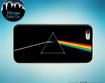 Dark Side of the Moon Album Cover Pink Floyd Rock Music Case iPhone 6s Plus iPhone 6 Plus iPhone 6s iPhone 6 iPhone 5s iPhone 5 iPhone 5c
