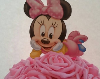 Baby minnie mouse topper  (for centerpieces)