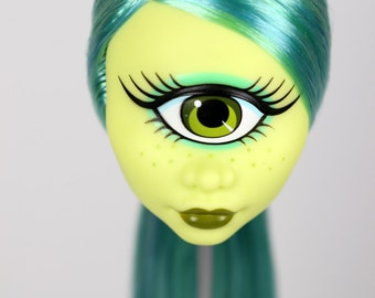 Re-root commissions for Monster High Doll