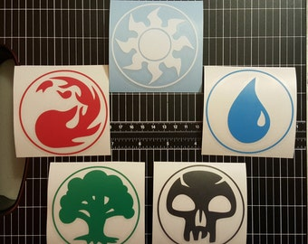 MTG - Magic - Mana Symbol Multipack or Individual - Vinyl Decal