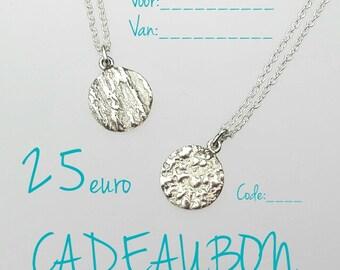 Gift voucher (Dutch)