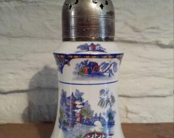 Palissey Sugar Shaker Oriental Design