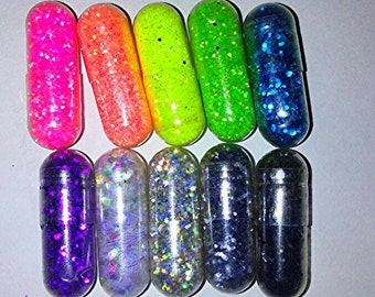 Glitter Pills *10* BOGO!!  Great Gifts and Party Favors! Gag Gift, Birthday gift for women. Christmas gift & Dirty Santa gag gifts,