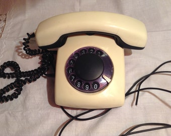 Dial Telephone from the Soviet Union
