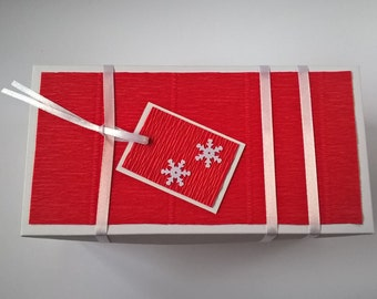 Christmas Gift Box / Handmade Gift Box / Handmade Gift Box comes only together with products of our shop