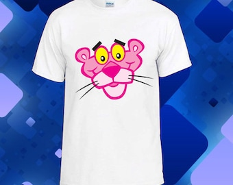 LoNyatanee Pink Panther T-shirt for all size Youth and men and women tshirt