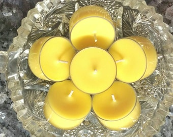 Jamaica Me Crazy Tea Lights / Scented Tea Light Candles / All Natural Soy Wax (Set of 6) - 5 Hour Burn