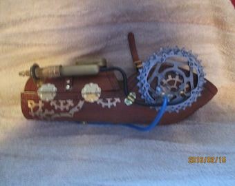 Steampunk arm bracer