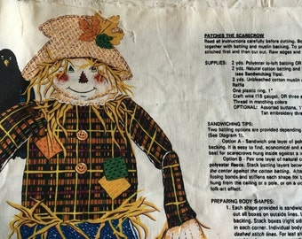 Patches the Scarecrow - Fabric Panel