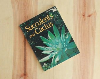 Succulents and Cactus Book by Sunset Magazine