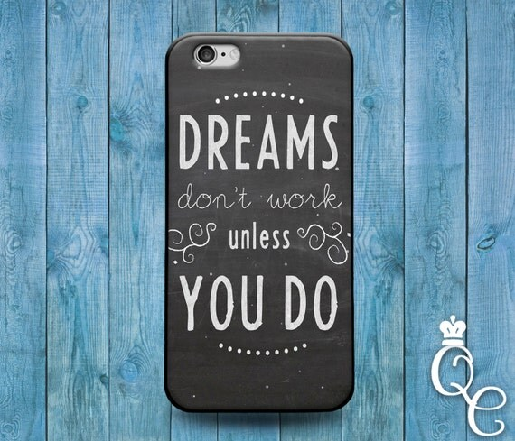 iPhone 4 4s 5 5s 5c SE 6 6s 7 plus iPod Touch 4th 5th 6th Generation Cool Grey White Life Dream Phone Case Cute Custom Fun Work Rubber Cover