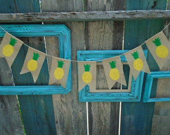 Pineapple Banner Garland