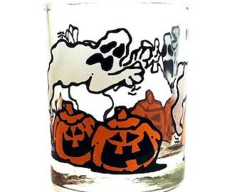 vintage halloween shot glass