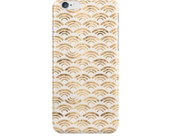 Waves iPhone Case, iPhone 6, iPhone 6 Plus, iPhone 5/5s, Waves Samsung Galaxy s5, s4, s3, Ivory, NewSerenityStudio