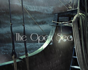 The Open Sea ~ Premade digital background