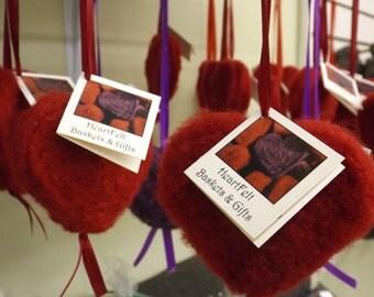 Felted Wool Heart