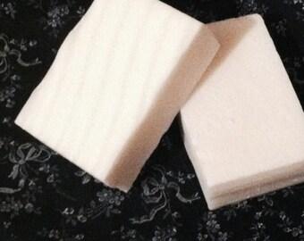 Goats Milk Soap, Gardenia Fragrance, Made to Order, Rectangular Soaps