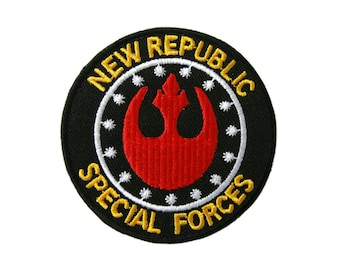 Star Wars New Republic Special Forces Comic Embroidered Iron On Patch