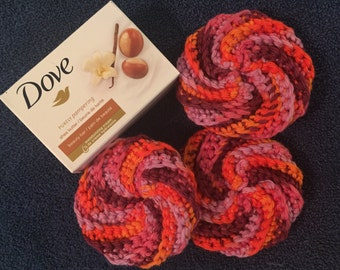 Body or dish scrubbies (3 pack)
