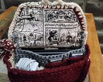 Nintendo DS Case Maroon Link