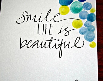 Artisan Print- Smile
