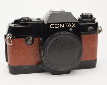 Contax 137 MD, 137 MA, 139 Quartz & RTS  Replacement Cover - Recycled Leather