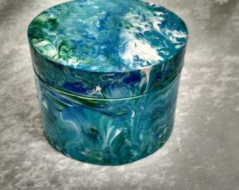Marzles Round Treasure Box