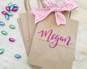 Personalized Gift Bag- Kraft Paper Bag