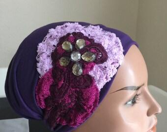 Head scarf, Israeli Tichel, fancy headbands, head bandana