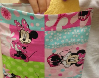 Minnie Mouse Themed Reusable Snack Bags, 2 pk.