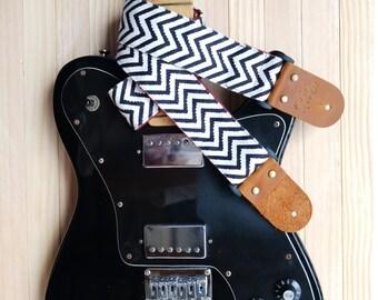 Zig Zag Guitar Strap