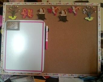 "Fall Cork/Dry Erase ""To Do"" Board"