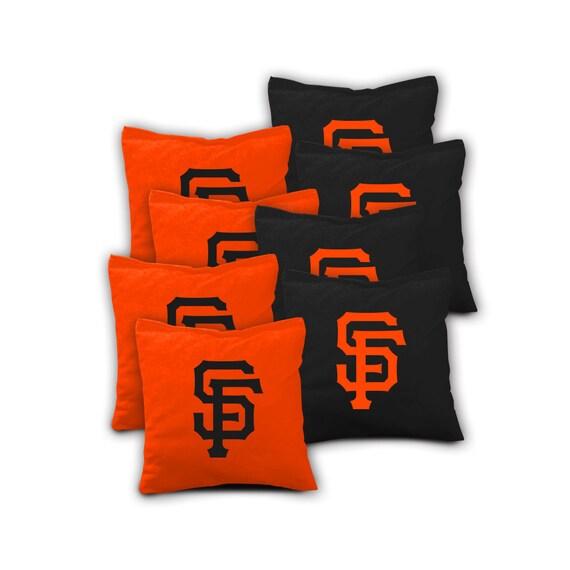 San Francisco Giants Set Of 8 Regulation Cornhole Bags Bean