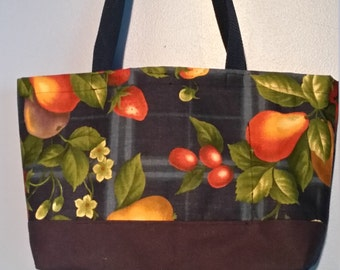 Fruit and Flowers Tote