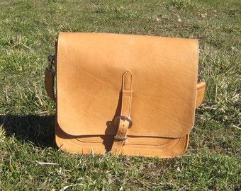 Leather Messenger / Computer Bag