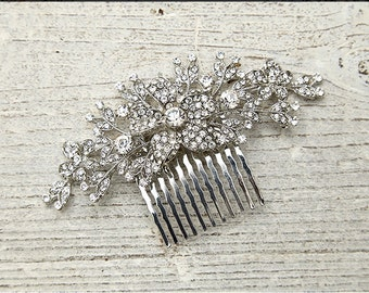 Rhinestone Wedding Bridal Hairpin Hair Comb