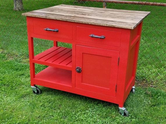 customizable kitchen island kitchen storage by oldtimehomedecor. Black Bedroom Furniture Sets. Home Design Ideas