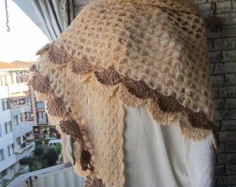 Beige Shawl, women shawl, winter shawl, scarves, for her, gift ideas,oversized shawl