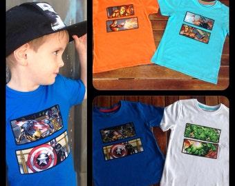 Boys Avengers Shirts