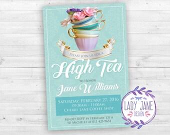 High Tea Invitation