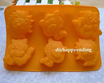 Lion Soap Mold Etsy