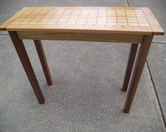 Narrow Hall Tables narrow hall table   etsy
