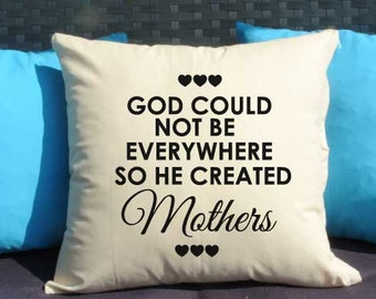 16x16 Pillow, Pillow with cover, Decorative pillow, Gift for Mom, Home decor, Throw pillow, Pillow cover, Mothers day gift