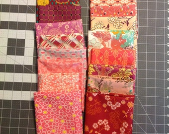 Ruby Beauty by Art Gallery Fabrics 16 Fat Quarter Bundle from Fat Quarter Shop