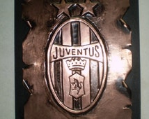 Articles uniques correspondant juventus etsy for Decoration murale juventus