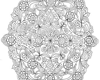 """Coloring Page: """"THUNDER"""""""