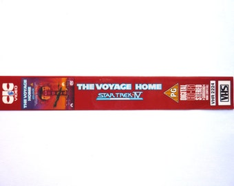 Star Trek The Voyage Home handmade BOOKMARK