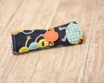 Little Monsters Crayon Roll