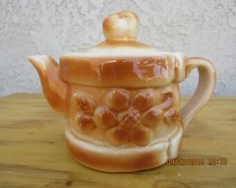 Vintage Pastry Teapot
